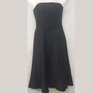 Ann Taylor Celebration 100% Silk Stapless Dress 00